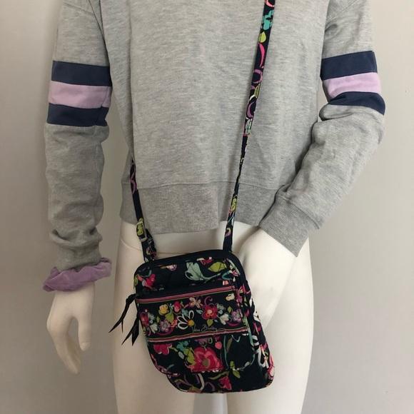 Vera Bradley Ribbons Winter 2012 mini hipster bag